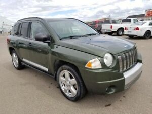 2008 Jeep Compass Limited (Heated Seats, Moonroof, Leather)