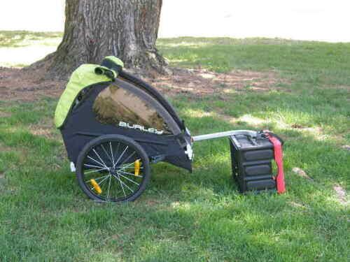 Burley Minnow Single Child Bike Trailer New No Box