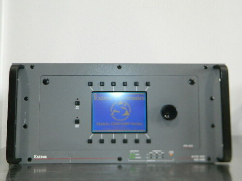 EXTRON MATRIX 3200 SWITCHER FPC-1000 VIDEO ROUTER