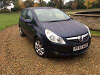 2007 (57) Vauxhall Corsa 1.4i Design 16v Automatic Superb Condition