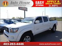 2011 TOYOTA TACOMA DOUBLE CAB TRD SPORT LEATHER 90DAY NO PAYMENT