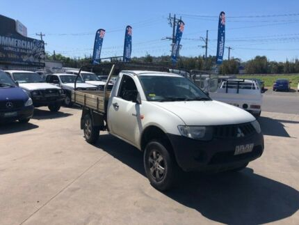 2009 Mitsubishi Triton ML MY09 GL 5 Speed Manual Cab Chassis Lilydale Yarra Ranges Preview