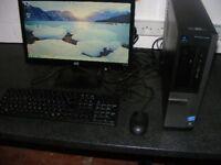 dell optiplex 390 i3 3.3 4gb memory 500gb harddrive 19 inch screen