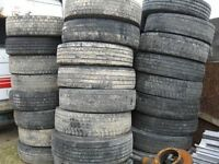 50 various Tyres