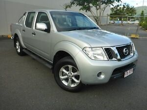 2013 Nissan Navara D40 S6 MY12 ST Silver 5 Speed Sports Automatic Utility Cairns Cairns City Preview