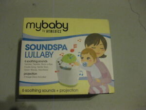 My baby homedics - soundspa lullaby with projection