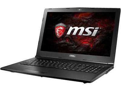 "MSI GL62M 15.6""IPS Core i5 7300HQ 8GB RAM 256GB SSD GTX 1050 WIN10 Gaming Laptop"