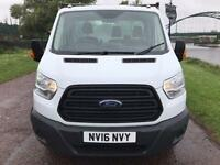 2016 16 FORD TRANSIT 350 LWB 2.2 DROP SIDE PICKUP DIESEL