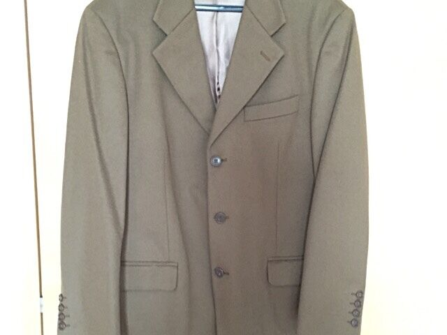 Classic Italian Made Cashmere Jacket