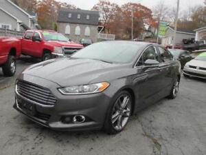 2015 Ford Fusion Titanium, EcoBoost, Leather, All Wheel Drive,