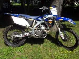 Mint condition 2010 yz250f