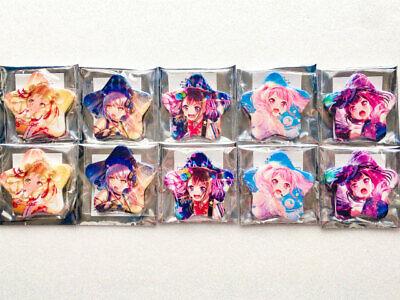 - BanG Dream! Girls Band Party! Star Type Tin Badge Garpa Cup Memorial Items