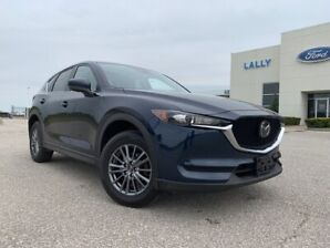 2017 Mazda CX-5 GS AWD with leather and moonroof
