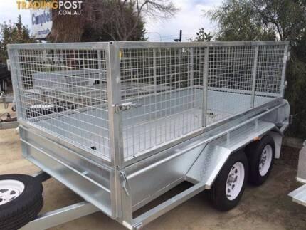 $30 hire 8× 5 cage trailer