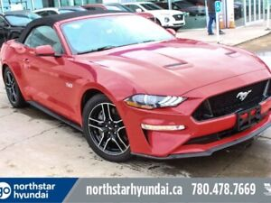2018 Ford Mustang GT/CONVERTIBLE/LOWKM/NAV/LEATHER