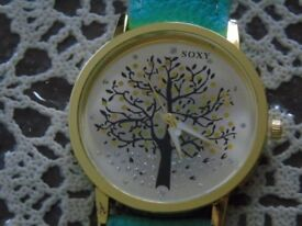 NEW Turquoise Ladies Watch By Soxy