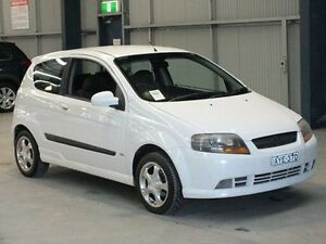 2006 Holden Barina TK TK White 5 Speed Manual Hatchback Dubbo Dubbo Area Preview