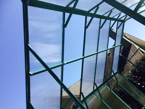 Brand New Aluminum Polycarbonate Greenhouse