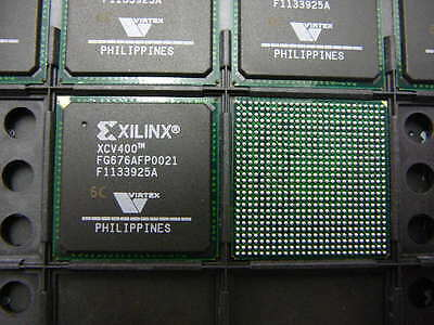 Xilinx Virtex Xcv400 6Fg676c Ic Fpga 404 I O 676 Fbga    New