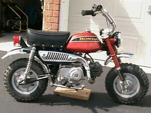 Looking for a '70's Honda mini bike
