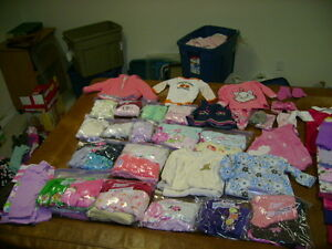 large clothing lot 0-12 months