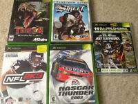 Multiple Xbox games