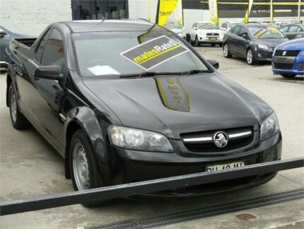2010 Holden Ute VE MY10 Omega Black 4 Speed Automatic Utility
