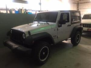 2008 Jeep Wrangler X $11295 Low Kms