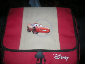 Like New One Of A Kind Disney Cars Laptop Bag
