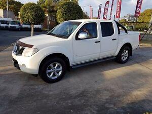 2011 Nissan Navara D40 S6 MY12 ST-X 550 White 7 Speed Sports Automatic Utility Acacia Ridge Brisbane South West Preview