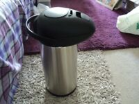 pump action huge vacumn flask for hot/cold