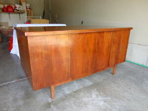 50 Year Old Solid Mahogany Administrators Desk