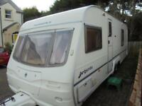 2003 Avondale Argente 642 4 Berth Caravan For Sale.Fixed Bed.End Washroom