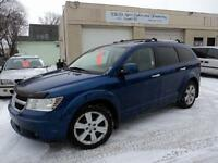 2009 DODGE JOURNEY RT-AWD-SUNROOF-LEATHER-LOADED-AUTO-ALLOYS