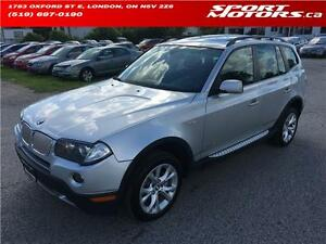 2009 BMW X3 3.0i! XDrive! Xenons! Panoramic Sunroof! New Brakes!