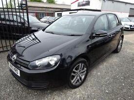 Volkswagen Golf 1.6 TDi 105 BlueMotion SE 5dr [Start Stop] (black) 2010