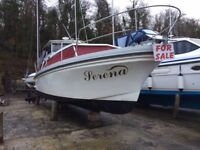 Boat Princess 32 ft Cruiser, twin engines, 5 berth, diesel heater, fridge in excellent condition
