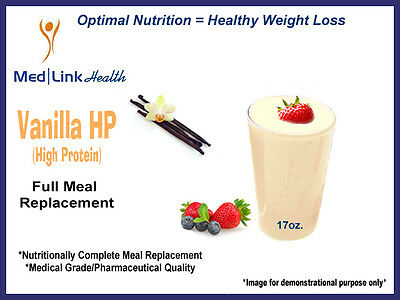 VANILLA HP SHAKES High Protein Weight Loss | 6 Boxes | SIMILAR TO Optifast® 800
