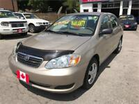 2007 Toyota Corolla CE...AUTO., AIR.,LOW KMS.... MINT COND.