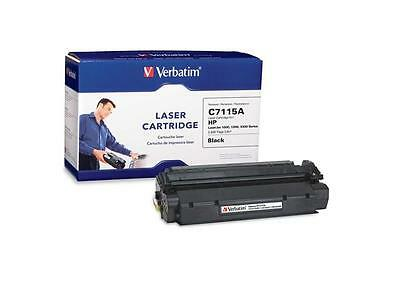 Verbatim HP C7115A Remanufactured Toner Cartridge for LaserJet 1000,1200, 3300 S