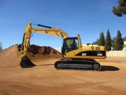 Caterpillar Excavator 320C, 20 tonne Digger