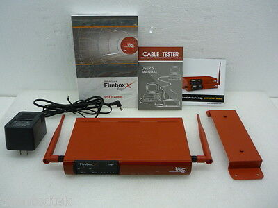 Watchguard Firebox X50w Vpn Network Firewall Security Appliance