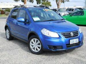 2012 Suzuki SX4 GYA MY13 Crossover Blue 6 Speed Manual Hatchback Wangara Wanneroo Area Preview