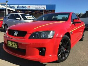 2008 Holden Commodore VE SV6 60th Anniversary Red 5 Speed Automatic Utility Blacktown Blacktown Area Preview