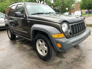 2005 JEEP LIBERTY 3.7L 4X4 AUTOMATIQUE AVEC 8 PNEUS