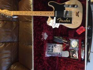 60th anniversary Fender telecaster
