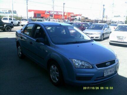 2006 Ford Focus LS CL Blue 4 Speed Automatic Sedan