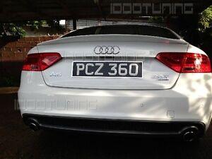 Audi A5 Sportback Heckspoiler S-Line Neu Spoiler Heckspoilerlippe