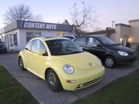 2001 Volkswagen New Beetle GLS automatique  toit  tout equipe