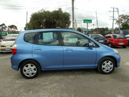 2007 Honda Jazz GD VTi Blue 7 Speed Constant Variable Hatchback Bayswater North Maroondah Area Preview